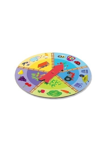 Djeco Djeco Tombala Oyunları / Tactilo Lotto Farm Pembe